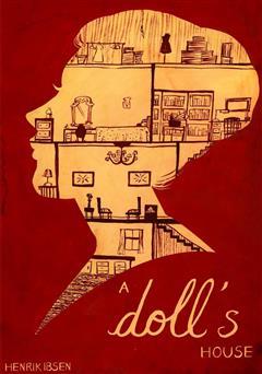 عکس جلد کتاب A dolls house (خانه عروسک)